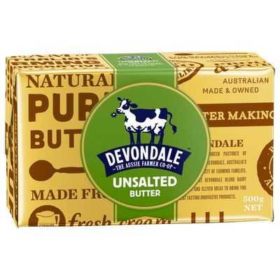 Devondale Unsalted Butter