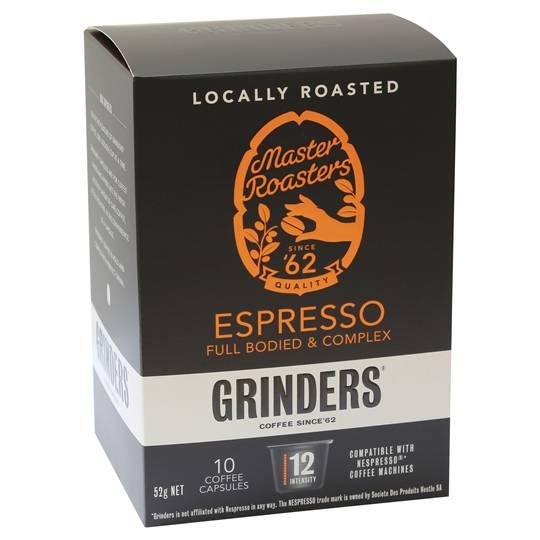 Grinders Espresso Capsules