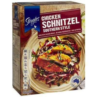 Steggles Breast Schnitzel Southern Style
