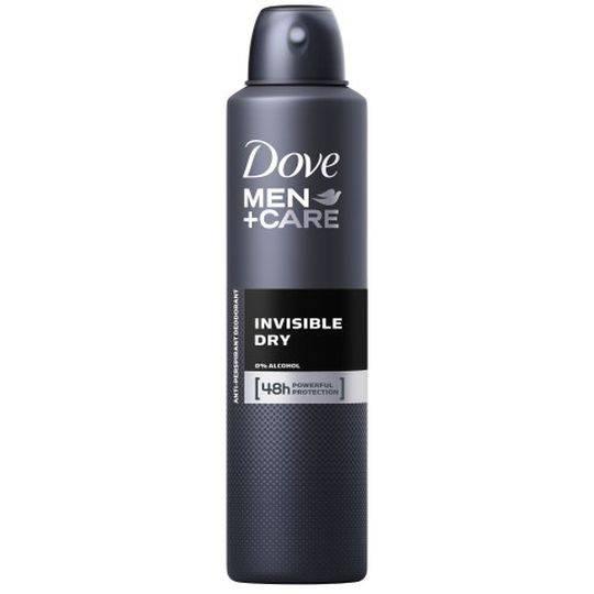 Dove Men Antiperspirant Deodorant Spray Invisible Dry Alcohol Free