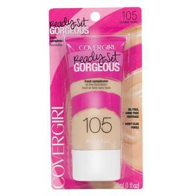 Covergirl Ready Set Gorgeous Foundation Ivory