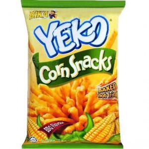 Bika Bbq Flavoured Corn Snacks