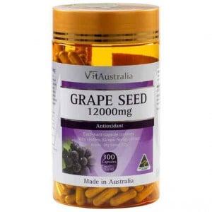 Vitaustralia Grape Seed 12000mg Capsules