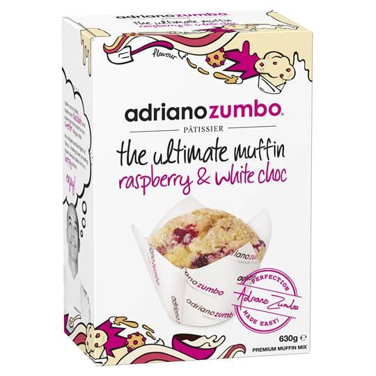 mom112217 reviewed Adriano Zumbo White Chocolate & Raspberry Muffin Mix