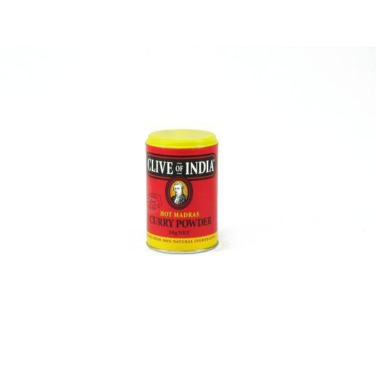 Clive Of India Hot Madras Curry Powder