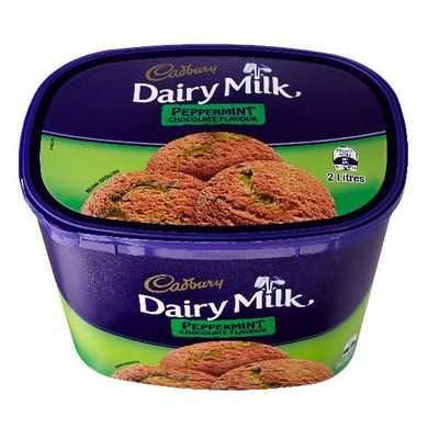 Cadbury Dairy Milk Ice Cream Dairy Milk Peppermint