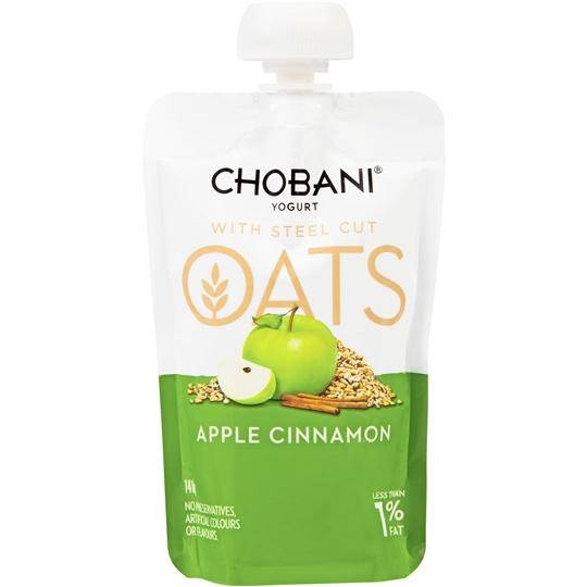 Chobani Oats Apple Cinnamon Yoghurt Pouch