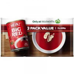 Heinz Canned Soup Big Red Tomato
