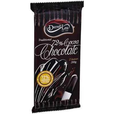 Darrell Lea Cooking Chocolate 72% Cocoa