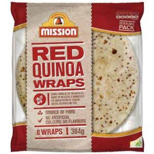Mission Quinoa Wraps