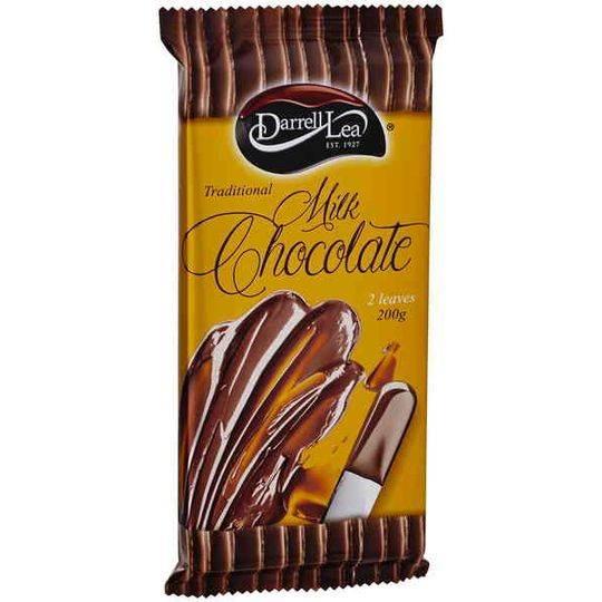 Darrell Lea Milk Cooking Chocolate