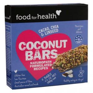 Food For Health Bars Cocnut
