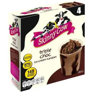A review for Skinny Cow Ice Cream Triple Choc