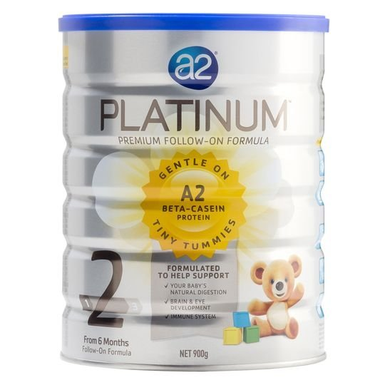 Oneofthree3 reviewed A2 Platinum Follow-on Formula Stage 2 6-12mnths