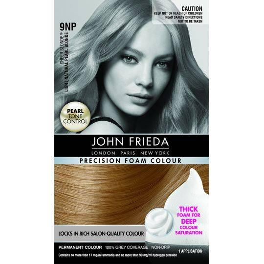 john frieda hair color instructions