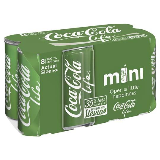Coca Cola Life Can