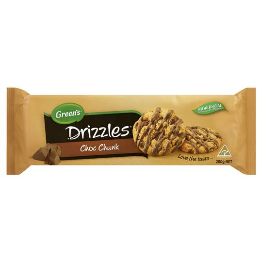 mom264171 reviewed Greens Choc Chunk Drizzles