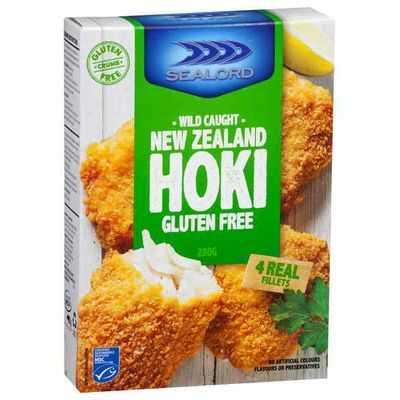 Sealord Gluten Free Hoki Fillets