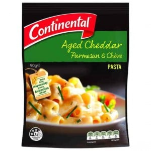 Continental Side Dish Aged Cheddar Parmesan & Chives