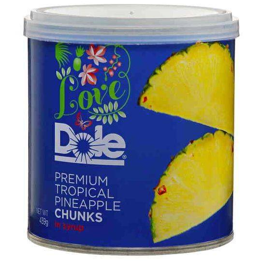 Love Dole Premium Tropical Pineapple Chunks In Syrup Ratings - Mouths ...