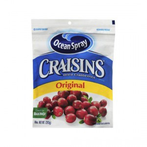 Ocean Spray Craisins Value Bag