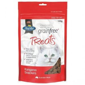 Vip Fussy Cat Grain Free Kangaroo Snackers Cat Treats