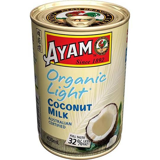 Ayam Organic Light Coconut Milk