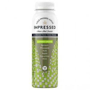 Impressed Cold Pressed Juice Summer Greens