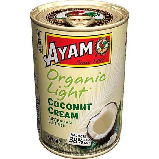 Ayam Organic Light Coconut Cream