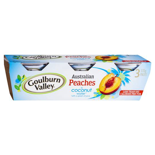 Goulburn Valley Peaches In Coconut Water
