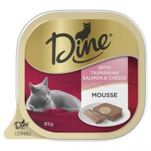 Dine Daily Mousse With Tasmanian Salmon & Cheese