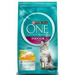 Purina One Indoor Cat Formula With Chicken