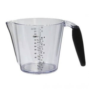 Inspire Measuring Jug With Rubber Handle