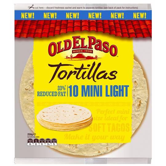 Old El Paso Tortillas Mini Light