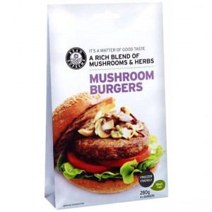 Bean Supreme Mushroom Burger