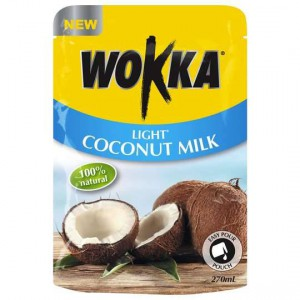 Wokka Light Coconut Milk