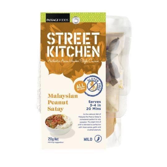 street kitchen malaysian peanut satay kit ratings - mouths of mums