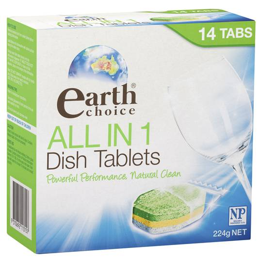 Earth Choice Dishwasher Tablets