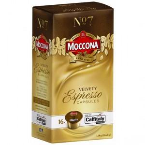 Moccona Espresso Capsules Velvety No.7