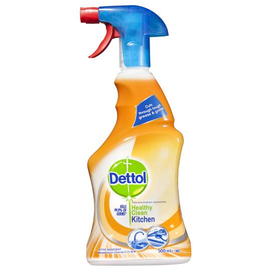 mom152736 reviewed Dettol Healthy Clean Kitchen Cleaner