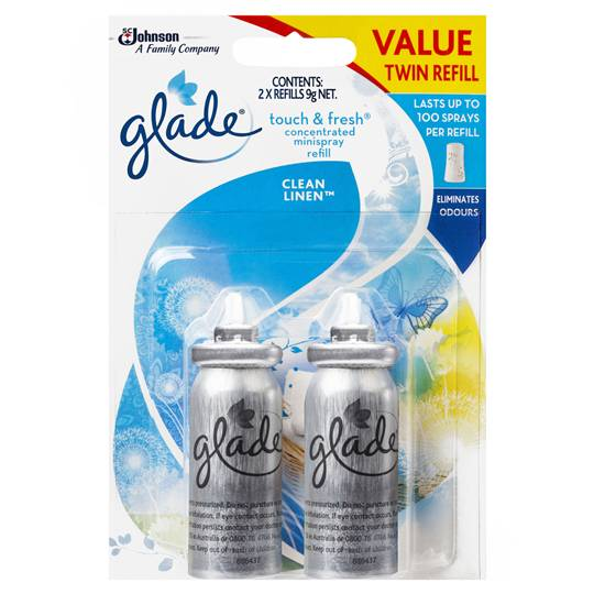 Glade Clean Linen Touch & Fresh Refill