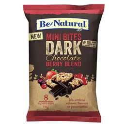 Be Natural Mini Dark Choc Berry Bites