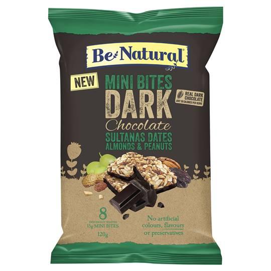 Be Natural Mini Dark Choc Sultana Date & Almond Bites