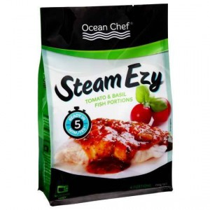 Ocean Chef Steam Ezy Natural Fish Portions With Tomato & Basil Sauce