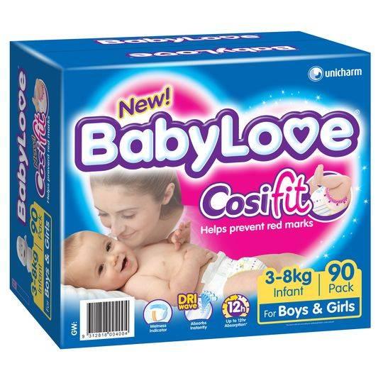 Babylove Cosifit Jumbo Infant Nappy