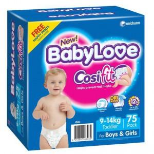 Babylove Cosifit Jumbo Toddler Nappy