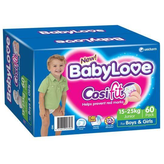 Babylove Cosifit Jumbo Junior Nappy