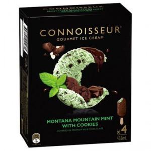 Connoisseur Ice Cream Mint Choc Cookie