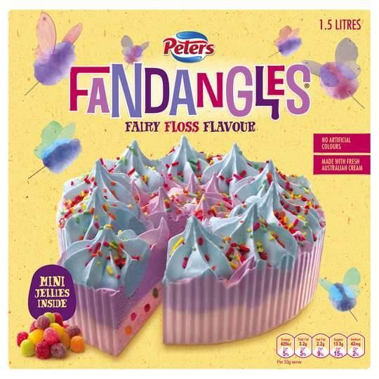Fandangles Ice Cream Cake