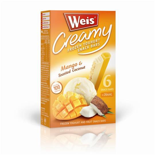 SoHypntiq reviewed Weis Frozen Yoghurt Mango & Toasted Coconut